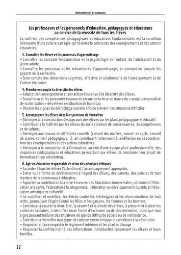 Education et système éducatif. Admission oral  Edition 2021