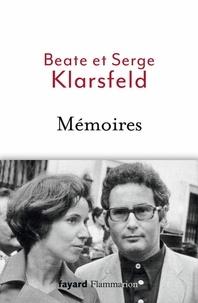 Serge Klarsfeld et Beate Klarsfeld - Mémoires.