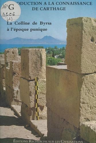 La Colline de Byrsa à l'époque punique : Introduction à la connaissance de Carthage