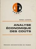 Serge Launois - Analyse économique des coûts.