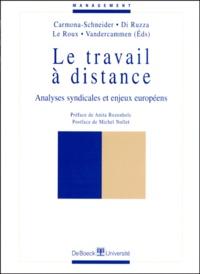 Deedr.fr LE TRAVAIL A DISTANCE. Analyses syndicales et enjeux européens Image