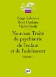Serge Lebovici et René Diatkine - Nouveau traité de psychiatrie de l'enfant et de l'adolescent en 4 volumes.