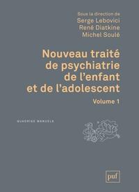 Serge Lebovici et René Diatkine - Nouveau traité de psychiatrie de l'enfant et de l'adolescent - Coffret en 4 volumes.