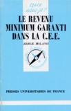 Serge Milano - Le revenu minimum garanti dans la CEE.