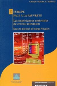 Deedr.fr L'EUROPE FACE A LA PAUVRETE. Les expériences nationales de revenu minimum Image