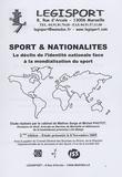 Serge Pautot et Michel Pautot - Sport & Nationalités - Le déclin de l'identité nationale face à la mondialisation du sport.