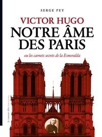 Serge Pey - Victor Hugo - Notre âme de Paris ou les carnets secrets de la Esmeralda.