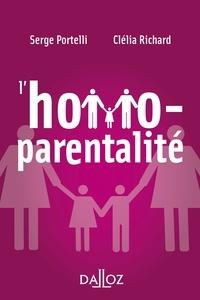 Serge Portelli et Clélia Richard - L'homoparentalité.