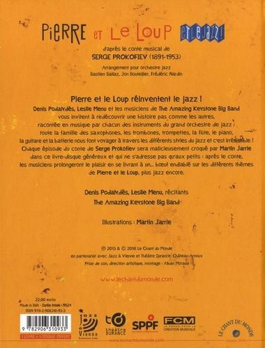 Pierre et le loup et le jazz  avec 1 CD audio