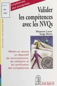 Serge Ravet et Maureen Layte - Valider les compétences avec les NVQs.