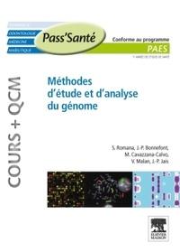 Serge Romana et Jean-Paul Bonnefont - Méthodes d'étude et d'analyse du Génome.