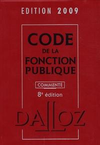 Serge Salon et Jean-Charles Savignac - Code de la fonction publique.