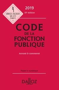Serge Salon et Jean-Charles Savignac - Code de la fonction publique - Annoté & commenté.