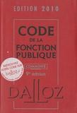 Serge Salon et Jean-Charles Savignac - Code fonction publique commenté.