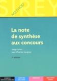 Serge Salon et Jean-Charles Savignac - La note de synthèse aux concours.