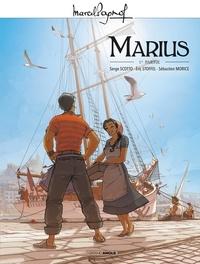 Serge Scotto et Eric Stoffel - Marcel Pagnol en BD Marius : M. Pagnol en BD : Marius - Volume 01.