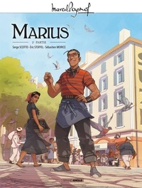 Serge Scotto et Eric Stoffel - Marcel Pagnol en BD - Marius - Volume 2.