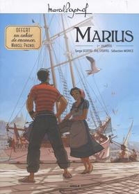 Serge Scotto et Eric Stoffel - Marius Tome 1 : Avec 1 cahier de vacances.