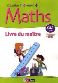 Serge Thévenet - Maths CE1 - Livre du maître, programmes 2008.