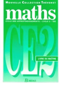 Serge Thévenet et  Collectif - MATHS CE2 CYCLE 3. - Livre du maître.