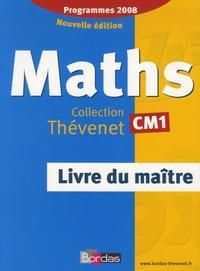 Serge Thévenet - Maths CM1 - Livre du maître, programmes 2008.