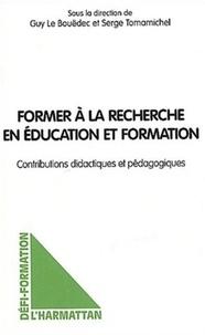 Serge Tomamichel et Guy Le Bouëdec - .