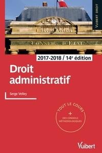 Serge Velley - Droit administratif - 2017-2018.