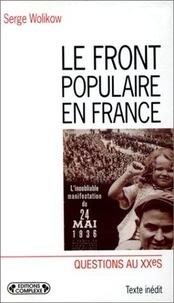 Histoiresdenlire.be Le Front populaire en France Image