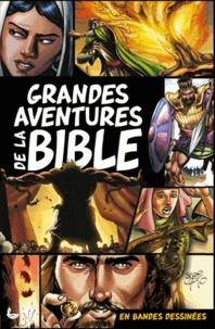 Grandes aventures de la Bible en bandes dessinées - Sergio Cariello |