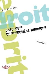 Sergio Cotta - Ontologie du phénomène juridique.