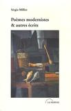 Sergio Milliet - Poèmes modernistes & autres récits - Anthologie 1921-1932.