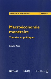 Histoiresdenlire.be Macroéconomie monétaire - Théories et politiques Image