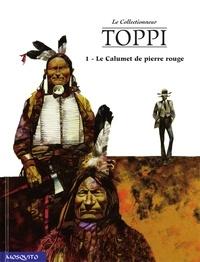 Sergio Toppi - Le Collectionneur Tome 4 : Le Calumet de pierre rouge.