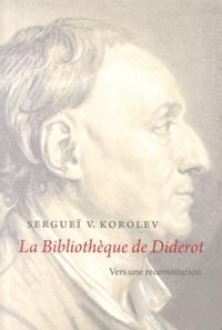 Sergueï Korolev - La Bibliothèque de Diderot - Vers une reconstitution.