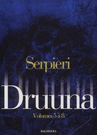 Serpieri - Serpieri Coffret volumes 5 à 8 : Tome 5, Mandragora ; Tome 6, Aphrodisia ; Tome 7, La planète oubliée ; Tome 8, Clone.