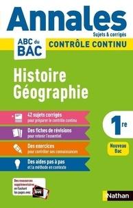 Servane Marzin - Histoire Géographie 1re - Sujets & corrigés.