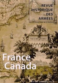 Laurent Veyssière - Revue historique des armées N° 266, 1er trimestr : France-Canada.