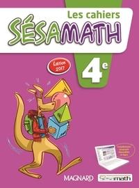 Real book pdf téléchargement gratuit Les cahiers Sésamath 4e en francais