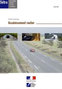 SETRA - Assainissement routier - Guide technique.