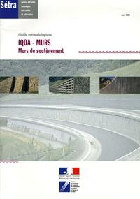 Deedr.fr IQOA-MURS en 2 volumes - Murs de soutènement et Murs poids en éléments préfabriqués empilés en béton Image