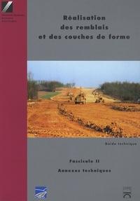 SETRA et  LCPC - Réalisation des remblais et des couches de forme - 2 volumes.