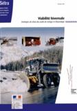 SETRA - Viabilité hivernale - Stratégies de choix des outils de raclage et d'épandage.