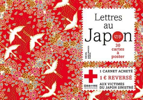 Seuil - Lettres au Japon - 30 cartes à poster.