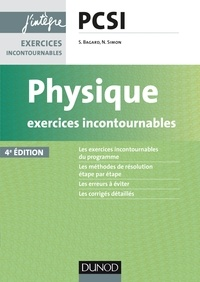 Deedr.fr Physique PCSI - Exercices incontournables Image