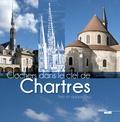 Séverine Berger - Clochers dans le ciel de Chartres, hier et aujourd'hui.