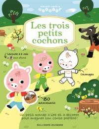 Séverine Charbonnel-Bojman et Mélanie Combes - Les trois petits cochons.