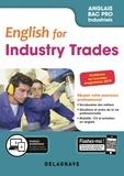 Séverine Germain - Anglais Bac pro English for industry trades - Pochette élève.