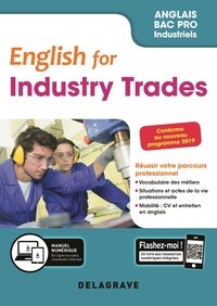 Anglais Bac pro English for industry trades- Pochette élève - Séverine Germain |