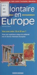 Séverine Le Berre - Volontaire en Europe.