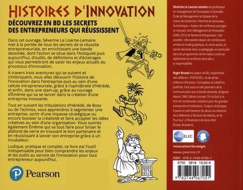 Histoires d'innovation. Découvrez en BD les secrets des entrepreneurs qui réussissent